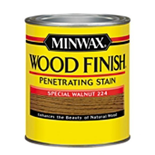 Special Wood (Minwax 222404444 Wood Finish Penetrating Interior Wood Stain, 1/2 pint, Special Walnut)
