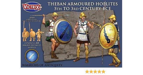 Victrix VXA003 - Hoplitas Blindadas De Theban del Siglo V Al ...