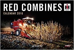 Red Combines Calendar 2016