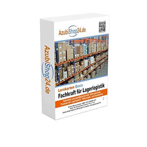 Lernkarten Fachkraft für Lagerlogistik Prüfungswissen: Prüfungsvorbereitung Fachkraft für Lagerlogistik Prüfung
