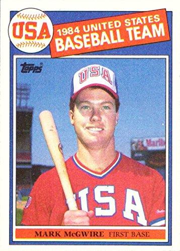 1985 Topps Baseball #401 Mark McGwire Rookie Card