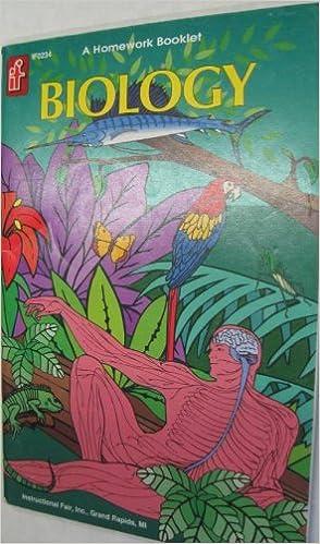 Homework Biology Instructional Fair 9781568221427 Amazon Books