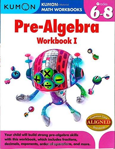 Amazon.com: Kumon Pre-Algebra Workbook I (Kumon Math Workbooks ...