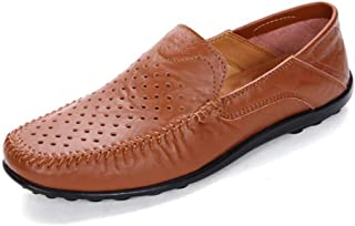 Hy Chaussures Homme, Printemps Nouveau Mocassins Hommes Chaussures Casual Chaussures lumière Confort Conduite Chaussures d'affaires Mocassins & Slip-Ons,c,46