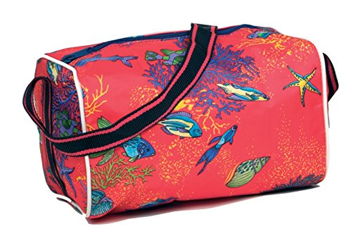 Fische Rot Schulsporttasche Sporttasche Schwimmtasche Wandertasche Kindergartentasche