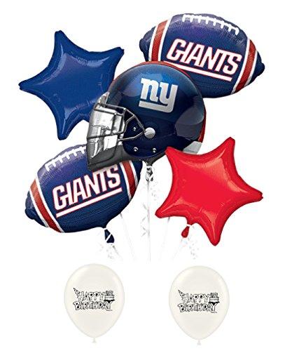 new york giants balloons - 4
