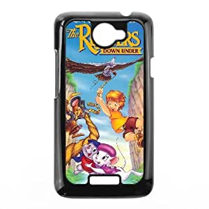 Cover HTC One X Cell phone Case The Rescuers Ihzk Unique Protective Csaes