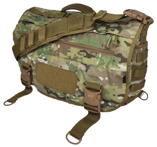 rier Laptop Messenger Bag with Molle, Multicam ()