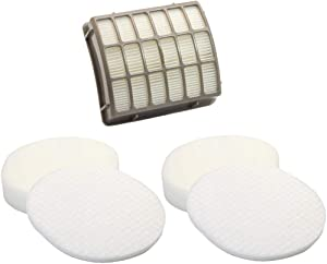 Ximoon Replacements Filter for Shark XFF80 XHF80 Upright Vac Vacuum Cleaner Models NV80, NV70, NVC80C, UV420, NV90 (2 Foam Filter)
