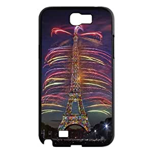 Chaap And High Quality Phone Case For Samsung Galaxy Note 2 Case -Eiffel Tower in Paris-LiShuangD Store Case 19