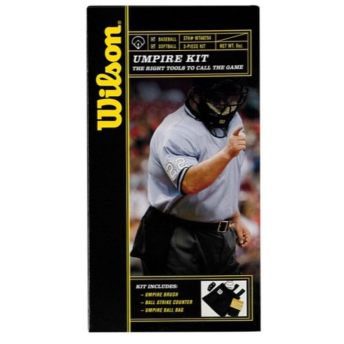 Wilson Sporting Goods Umpire Kit, Black