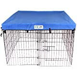 4' x 4' GoGo Pet Products Exercise Pen UV Top / Cover Royal Blue
