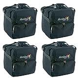 Arriba AC-125 Professional DJ Lighting Soft Case 4-Pack
