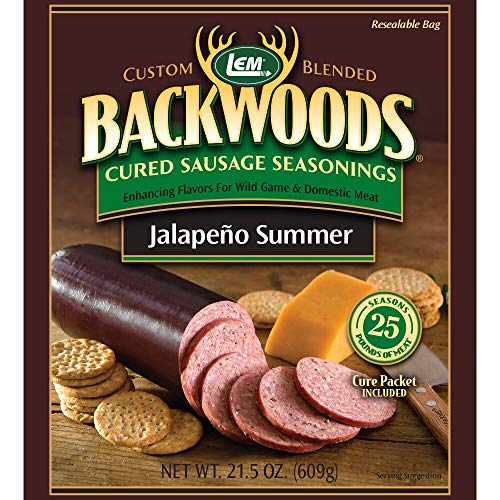 - LEM Backwoods Cured Sausage Seasoning with Cure Packet