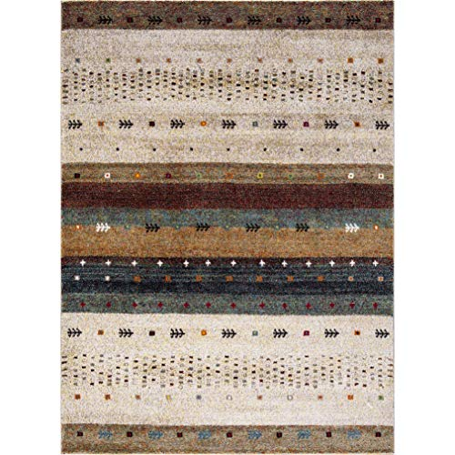 Concord Global Trading Concord Global Diamond Native Beige Area Rug - 7'10 x 10'6 from Concord Global Trading