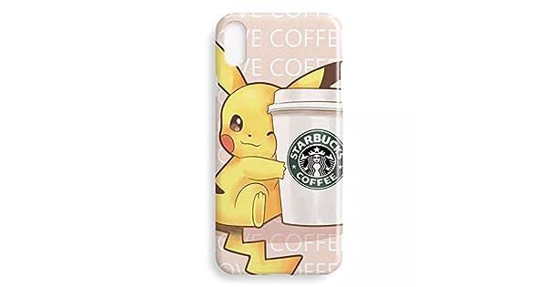 Amazon.com: Pokemon Pikachu iPhone X suave cubierta funda o ...