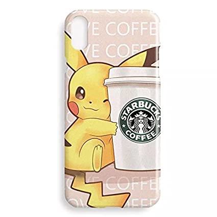buy online dc147 f8537 Pokemon Pikachu iPhone X Soft Plastic Case or Cover Cute Girly Hello ...