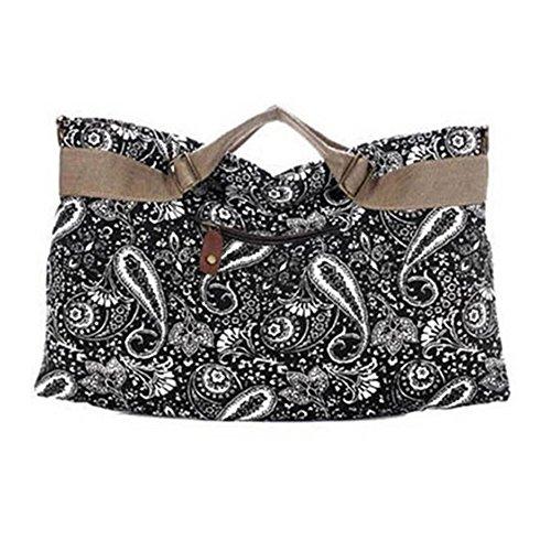 Sanwood , Damen Schultertasche schwarz schwarz One Size