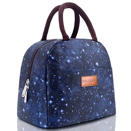BALORAY Lunch Bag Insulated Lunch Bag for Women Lunch Box Lunch Container (G-197S Star) ()