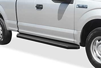 Amazon Com Aps Iboard Black Running Boards Style Compatible With Ford F150 2015 2020 Super Cab F 250 F 350 Super Duty 2017 2020 Nerf Bars Side Steps 6in Wide Aluminum Automotive