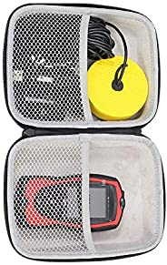 LUCKY Hard Travel Case for LUCKY/LUCKYLAKER Handheld Fish Finder Boat Sonar Fishing Finders Transducer Kayak F