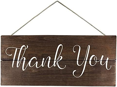 Thank You Sign Wedding Sign Photo Prop for Thank You Card Wedding Signs for Thank You Cards