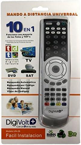 Digivolt - Mando universal tv sat tdt dvd un-29: Amazon.es: Electrónica