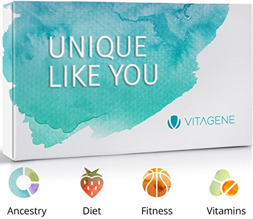 Vitagene DNA Test Kit:  Ancestry + Health Personal Genetic Reports Only $47.43