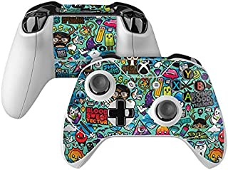 product image for Jewel Thief Skin Decal Compatible with Microsoft Xbox One and One S Controller - Full Cover Wrap for Extra Grip and Protection