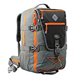 Equator Backpacking Flight Approved Backpack with Integrated Rain cover, Waist and Chest Straps