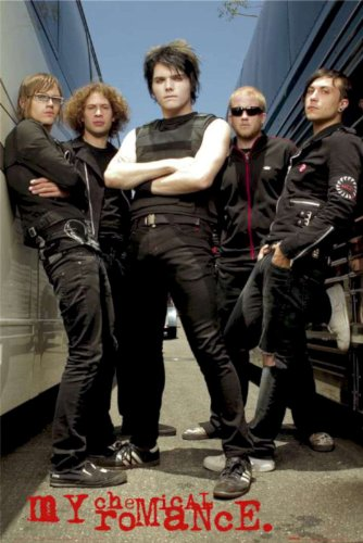 My Chemical Romance Poster Band Shot Alley