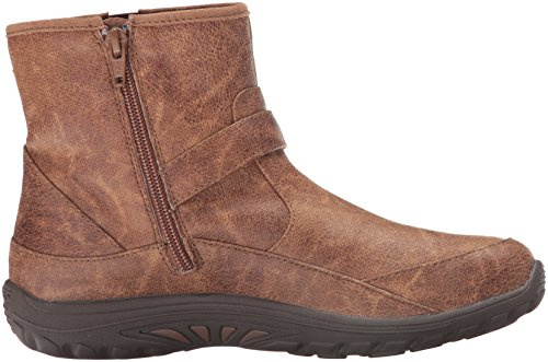 Skechers Womens Reggae Fest-Urban Dread Ankle Bootie Brown