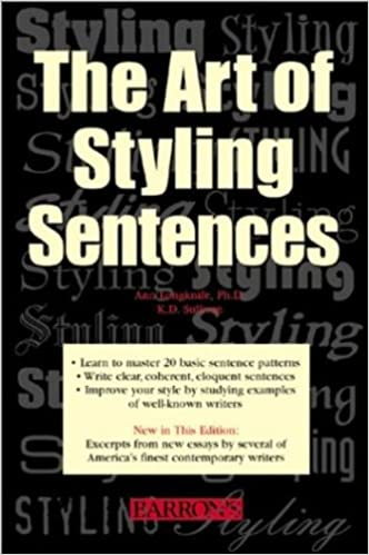 The art of styling sentences kindle edition by kd sullivan ann the art of styling sentences 4th edition kindle edition fandeluxe Images