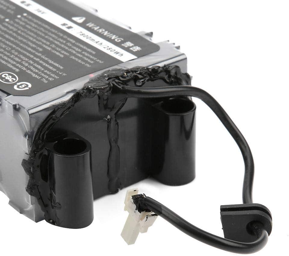 Alomejor 36V 7800mah Bater/ía de Litio Bater/ía de Repuesto Recargable Bater/ía de Scoooter de Rendimiento Estable Paquete de bater/ía