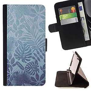 Momo Phone Case / Flip Funda de Cuero Case Cover - Naturaleza Leaves Wallpaper Tropical - MOTOROLA MOTO X PLAY XT1562