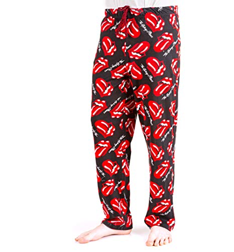 (The Rolling Stones Loungepants Black/Charcoal)