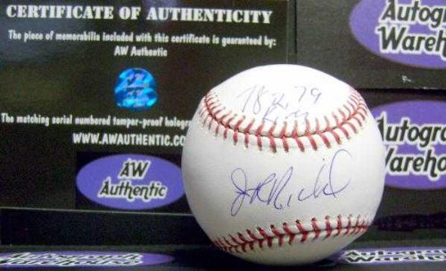JR Richard autographed baseball (Houston Astros All Star Strikeout Leader) inscribed 78 79 K King AW Hologram Certificate of Authenticty