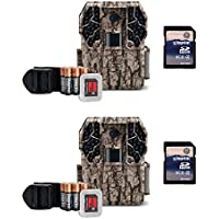 Stealth Cam ZX36NG 10MP No Glo Infrared Trail Camera Kit (2 Pack) + (2) SD Cards