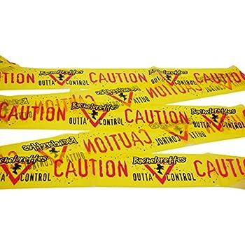 Bachelorette Party Caution Tape Twenty Foot Banner--Perfect Bachelorette Party Decor!!!