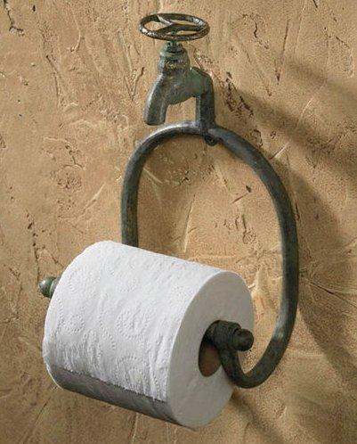 Primitive Country Style Chicken Wire Toilet Paper TP Holder Farmhouse Bath Decor durable service