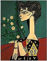 Impresiones En Lienzo PóSter De Picasso RéPlica DecoracióN Pintura Retro Pegatinas De Pared Bar Café Habitació