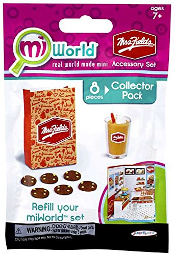 miWorld Mall Mrs Fields Accessory Set Collector's Pack - Cookies and Chiller