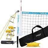 Verus Sports Professional Portable Volleyball Net Set