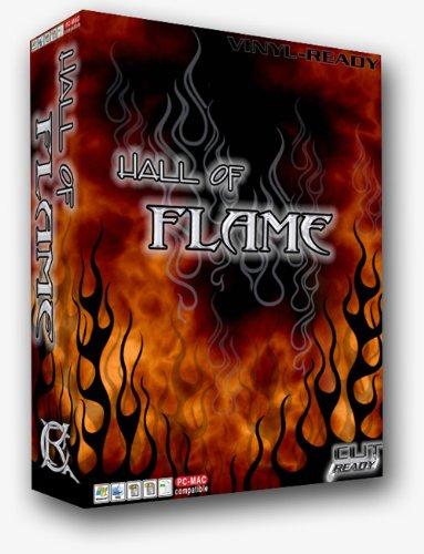 Flame Catalog Number (Flames Vector Clipart Vinyl Cutter Plotter Clip Art Images Sign Design Artwork-eps Vector Art Software)