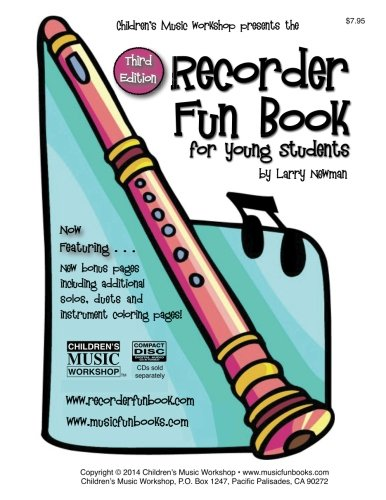 (The Recorder Fun Book: for Young Students)