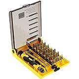 KKmoon - Kit de herramientas profesionales de tornillo de hardware, 45 en 1