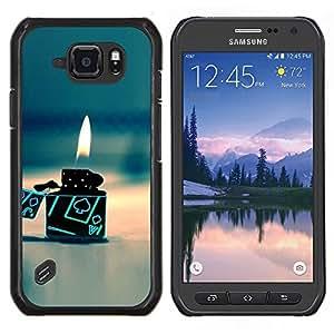 Stuss Case / Funda Carcasa protectora - Poker Gambling Llama Gas Beach - Samsung Galaxy S6 Active G890A