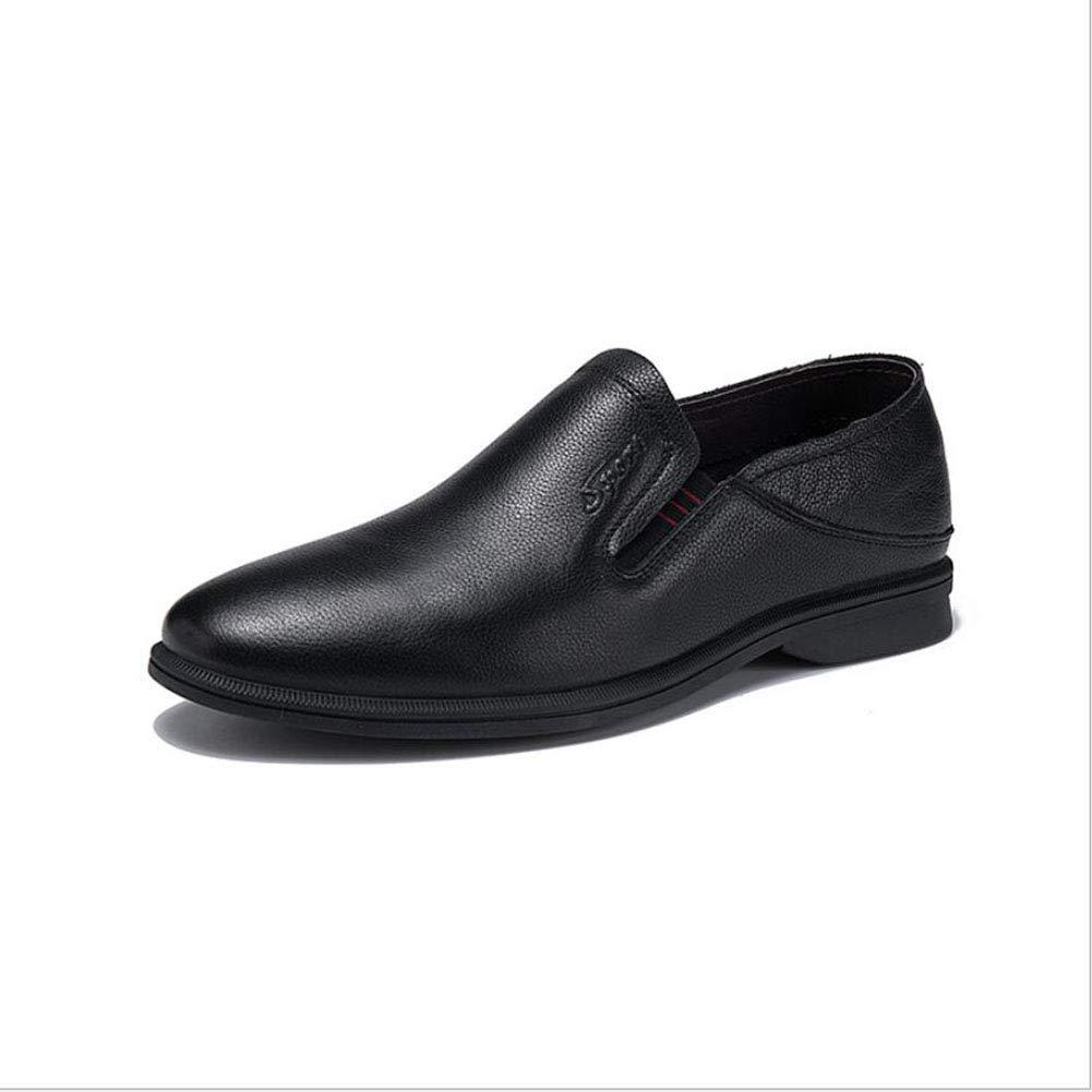 Hy Herren Lederschuhe, Frühjahr Herbst Loafers & Slip-Ons Peas Schuhe Faule Schuhe Bequeme Breathable Driving schuhe Freizeitschuhe Walking schuhe Formal Business-Arbeit