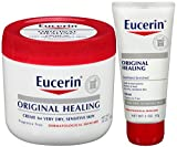 Cheap Eucerin Original Healing Rich Creme Bundle, 16 Ounce Jar with 2 Ounce Tube