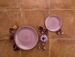 Quid Vita Vajilla para 6 personas, 18 piezas, cerámica gres ...